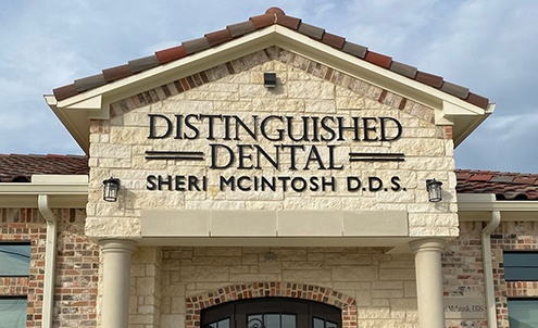 Keller dental practice Distinguished Dental exterior