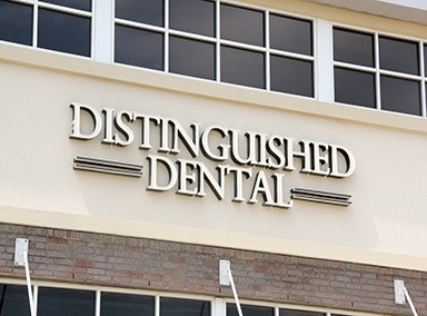 Distinguished Dental sign in Keller